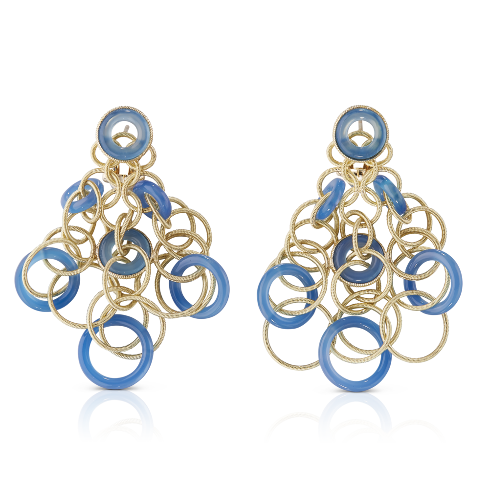 Buccellati - Earrings - Hawaii Color Pendant Earrings - Jewelry