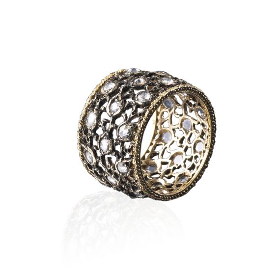 Buccellati - Rings - 3 File Campanelli - Jewelry