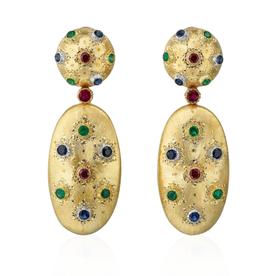 Buccellati - Orecchini - Pendant Earrings - Gioielleria