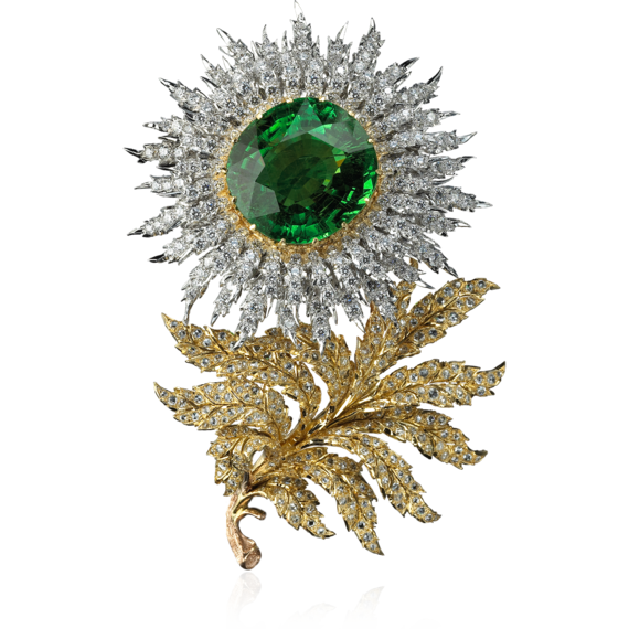 Buccellati - Brooches - Aster Brooch - High Jewelry