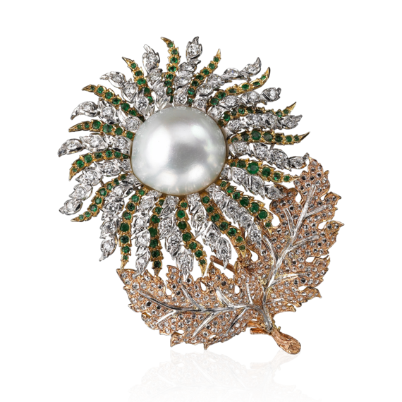 Buccellati - Brooches - Raggio di Sole Brooch - High Jewelry