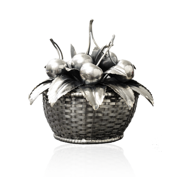 Buccellati - Centerpieces - Cherries Basket - Silver