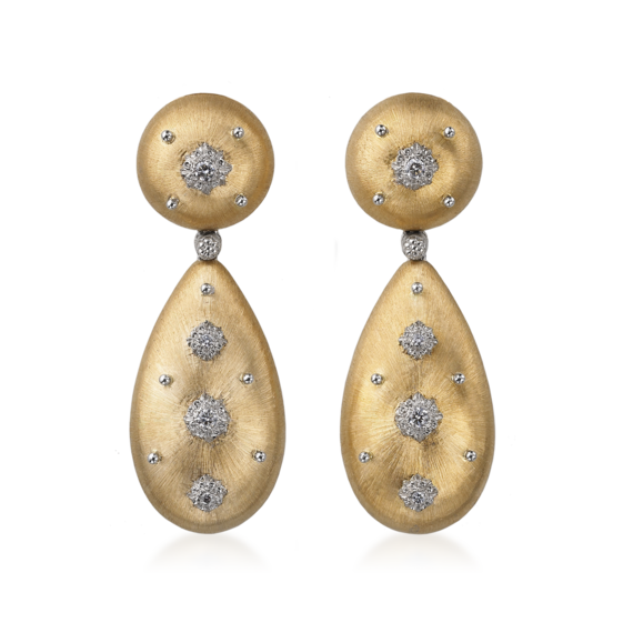 Buccellati - Earrings - Orecchini pendenti Macri - Jewelry