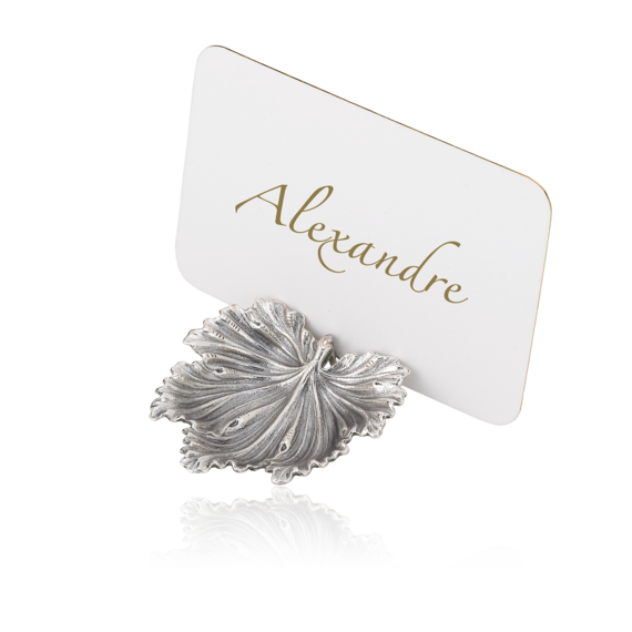 Buccellati - Giftware - Place Marker Acanthus - Silver