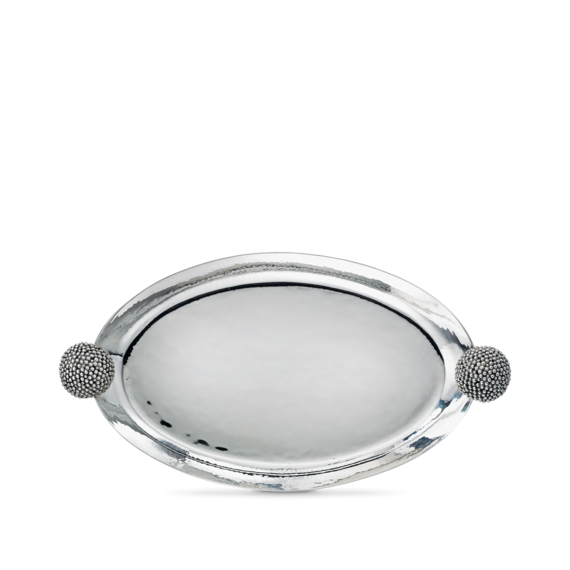 Buccellati - Table Accessories - Caviar Cookie Tray - Silver