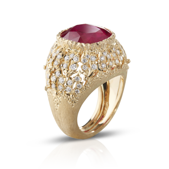 Buccellati - Rings - Passione Ring - High Jewellery