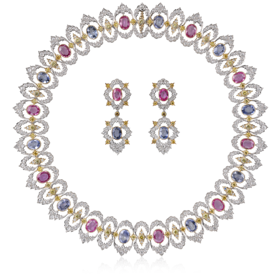 Buccellati - Necklaces - Scripta Set - High Jewelry