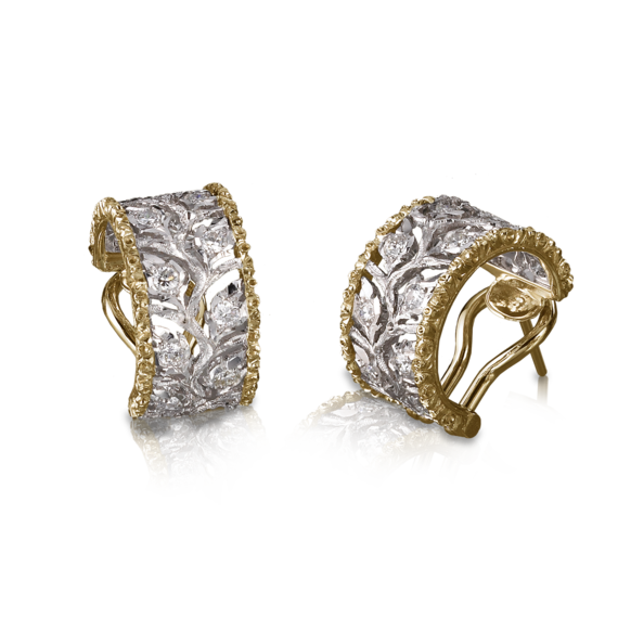 Buccellati - Boucles d'oreilles - Ramage Earrings - Joaillerie