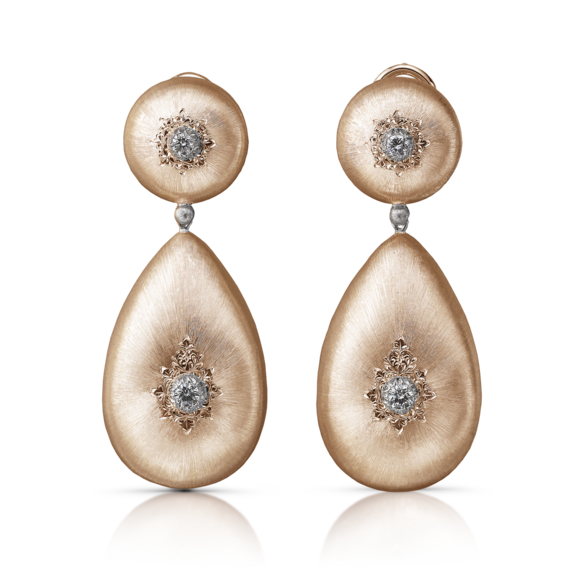 Buccellati - Earrings - Orecchini Pendenti Macri Classica - Jewelry