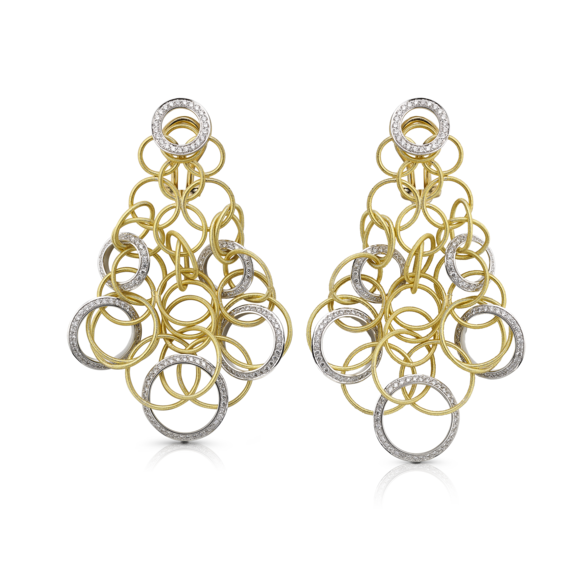 Buccellati - Orecchini - Hawaii Diamonds Pendant Earrings - Gioielleria