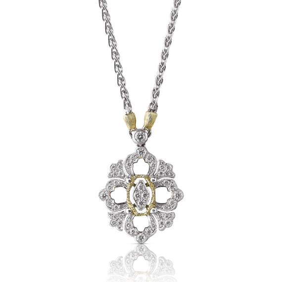 Buccellati - Pendants - Opera Full Pavé Medium Pendant - Jewelry
