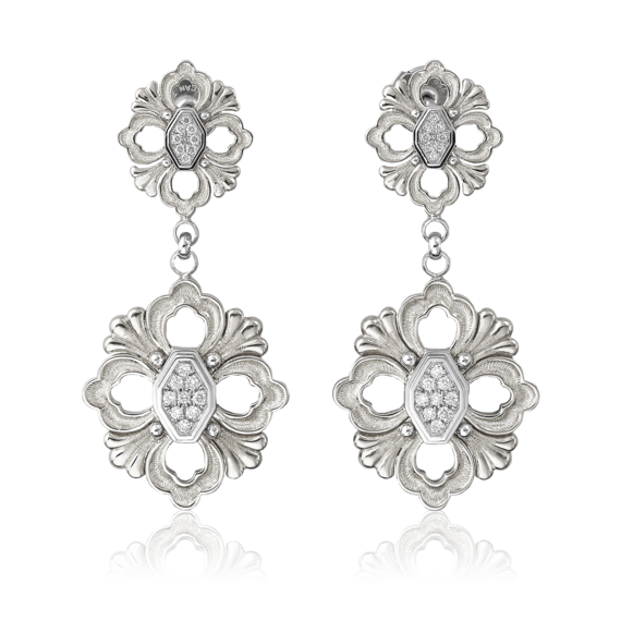 Buccellati - Earrings - Orecchini pendenti Opera - Jewelry
