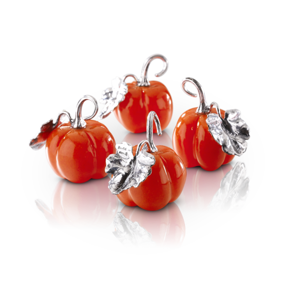 Buccellati - Table Accessories - Pumpkin Table Cardholders - Silver